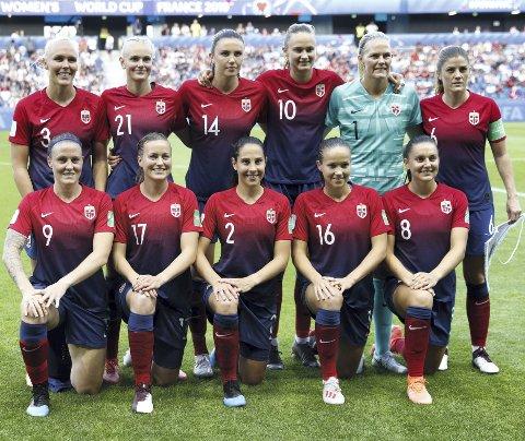 Det er solgt 8000 billetter til kvinnelandslagets treningskamp mot England, som går på Stadion tirsdag. Foto: NTB Scanpix