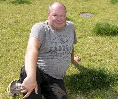 Trym Aafløy i bompengepartiet mener det er grønt gress på alle sider i bergenspolitikken, og tar ikke side før etter valget. FOTO: MAGNE TURØY