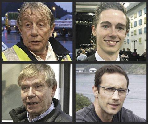 Willy Padøy, Kjartan Moi Andreassen, Tor Woldseth og Thomas Flesland er alle kastet ut av Frp.