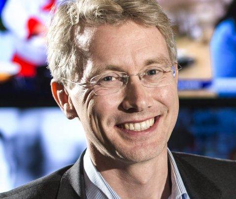 Glad: Olav T. Sandes, toppsjef i TV2 gleder seg til samarbeidet med TV Bra.