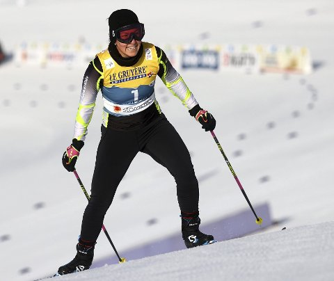 Fiorella D'Croz Brusatin koste seg i VM-løypene onsdag.  – Jeg har mye å jobbe med, men det var en helt utrolig opplevelse, sier hun til BA. foto: Reuters