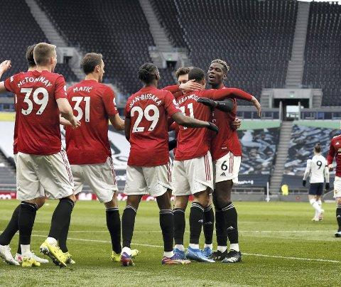 Vil bryte ut: Manchester United er én av tolv klubber som har gått i bresjen for å danne en europeisk superliga, hvor kun de aller rikeste skal få delta. Det har fått supportere rundt om i hele verden til å rase. Foto: NTB