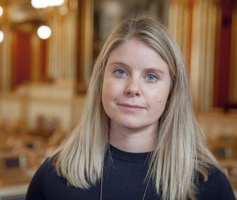MÅ GJØRE NOE: Det viktigste er å bedre luftkvaliteten, og det må gjøres nå, ifølge Anna-Kristin Ljunggren. Foto: Ragnar Bøifot.