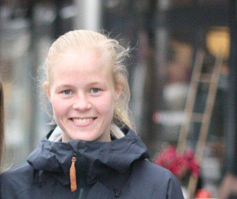 FÅR SKRYT: Katrine Winnem Jørgensen får skryt av Røa-trener Geir Nordby.