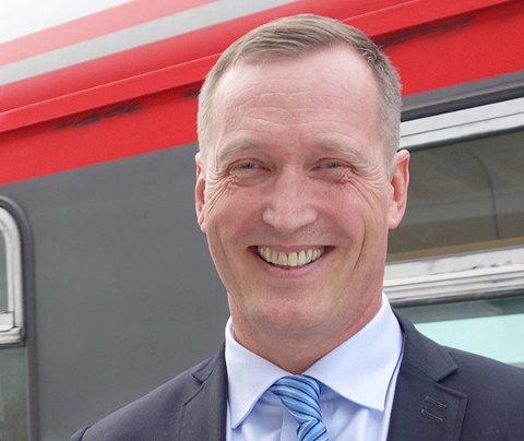 Erik Storhaug, daglig leder i NSB Gjøvikbanen
