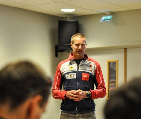 SØKER TRENER: Emil Wingstedt og Halden Skiklubb er på utkikk etter en ny hovedtrener etter at Eva Jurenikova ga beskjed om at dette blir hennes siste sesong.