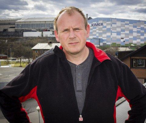 KAMP: LO-sekretær Bjørn Johansen i Finnmark lover knallhard kamp for oppstart av gruvedrift i Sør-Varanger.