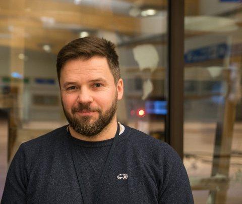 VIL SAMLE: Martin Langaas, direktør for fraktutvikling ved Oslo Lufthavn Gardermoen, og lufthavnsjef Ulf Myrmel oppfordrer til at man samler seg om fraktflyginger til Oslo.