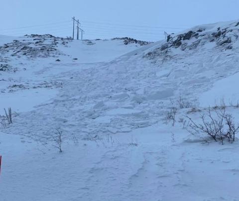 LIVSFARLIG: Det er ofte de små skredene som tar liv, sier brannsjef i Hammerfest, Arne Myrseth.
