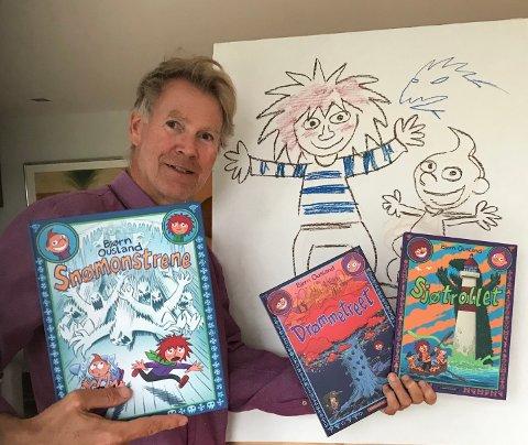 PRISBELØNT: Forfatter og illustratør Bjørn Ousland har mottatt en rekke priser for bøkene sine. Snart kommer han til Aurskog-Høland.