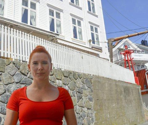 KJEFT: Charlotte T. Sætersdal fikk kjeft da hun stilte spørsmål ved sjømannsforeningens medlemskapsregler. Arkivfoto