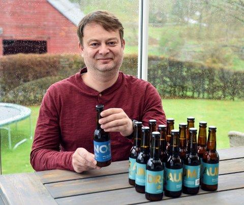 Gaute Vaage i Vaage Bryggeri skal snart opna pub på Halsnøy.