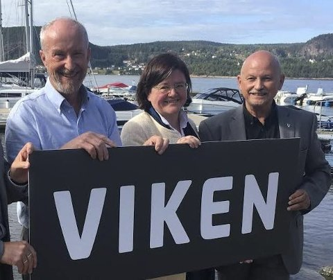 Ole Haabeth (Ap), Østfold, Anette M. Solli (H), Akershus og Roger Ryberg (Ap), Buskerud da Viken-navnet ble presentert.