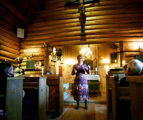 UTTRYKKSFULL: Ingeborg Schübeler Gillebo 21 år etter at ho var med på ungdomsmusikalen Jesus Christ Superstar i Nord-Gudbrandsdal.