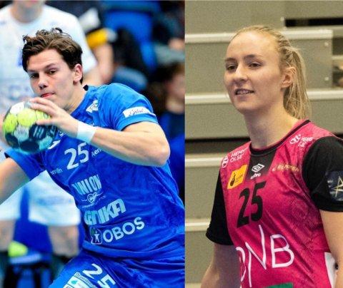 SUPERPAR: Aksel Horgen fra Langhus og Oslo-jenta Henny Reistad.
