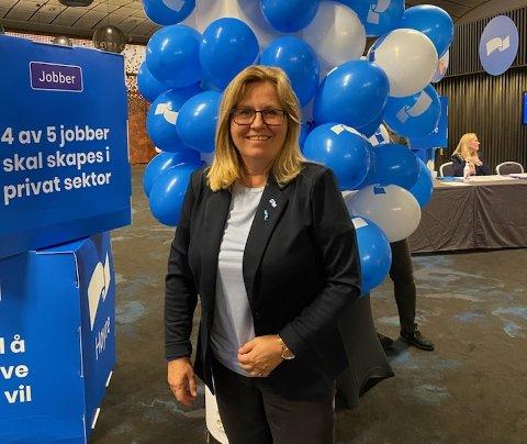 HÅPER PÅ ÉN TIL: Anne Kristine Linnestad er glad for at fem er inne, men håper på et sjette mandat fra Akershus.