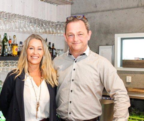 May-Lis Vinkenes Hallvig og Remi Hallvig på Spiseriet Verdens Ende ser fram mot rolige uker om ikke så lenge.