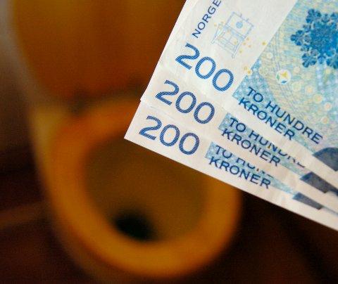 PENGER Å SPARE: Neste år kan husstander i Ringerike spare flere 200-lapper i avgifter.