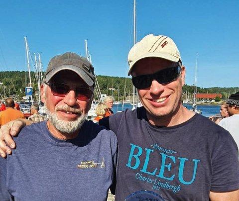 RULER: Asbjørn og Yngve Lønmo forsetter å prege toppen av rankingslistene for shorthanded-seilere.  I helgen ble de norgesmestere for første gang. Bildet er fra forrige helg, da de vant Hollænderseilasen, som tradisjonelt er Norges nest største regatta.