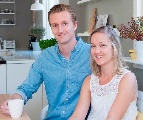 Karianne Christensen og Jon Ivar Ask fra Halden gikk helt til topps i konkurransen Norges vakreste hjem 2015.
