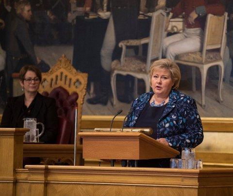 FÅR KRITIKK: Igjen har statsminister Erna Solberg forhandlet seg ut i en usikkerhet om kvinners rettigheter, mener Eivind Yrjan Stamnes (Ap), som oppfordrer til kamp mot endringer i abortloven.