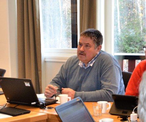KLAR OPPMODING: Vestre Slidre-ordførar, Haldor Ødegård, oppmodar folk til å velje kortreist mat, både for miljøet og det norske landbrukets skuld.