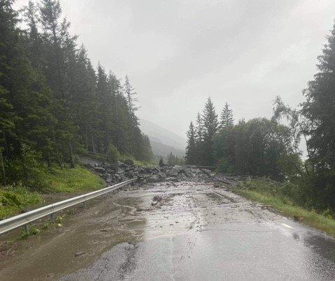 EVAKUERING: De evakuerte får ikke dra tilbake til boligene sine onsdag kveld, ifølge kommunedirektør Erlend Haaverstad.