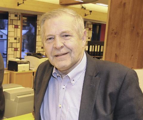 BANKSJEF: Arne Sund i Tolga/Os-Sparebank.