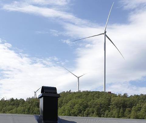 STORLI: Bilde fra Storli som er et av områdene på Øksendalsheia som har blitt sterkt berørt av vindkraftutbyggingen.