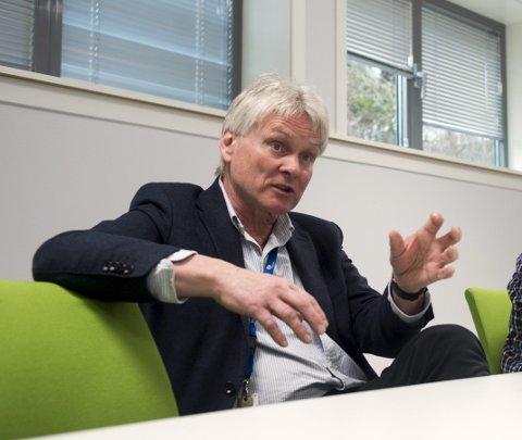 BA mener Helse Bergen bør påta seg solidarisk ansvar i Enemona-saken. På bildet divisjonsdirektør Askjell Utaaker i Helse Bergen.