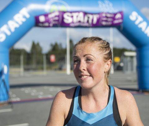 Reiselysten: Det ble ikke verden rundt på Eli Anne Dvergsdal i fjor, men hun vant i hvert fall Flyplassløpet ...arkivfoto: anders kjølen
