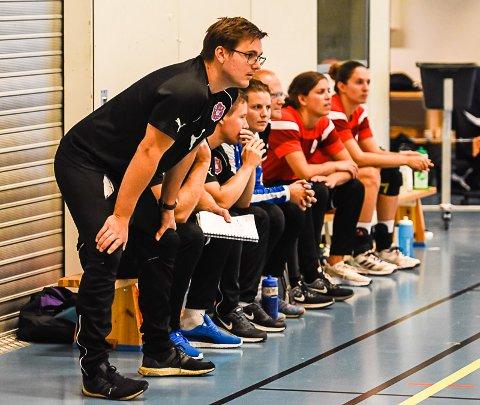 Nytt tap: Trener Espen Rødevand måtte se Glassverket tape sin 12. eliteseriekamp onsdag kveld.