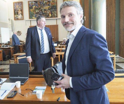 VIL BYGGE: Eirik Frantzen, administrerende direktør i Nordkraft, bygger vindkraft over hele landet i samarbeid med Fortum. Men om det kommer nye prosjekt i Narvik-regionen, blir de bygd ut av Nordkraft alene.