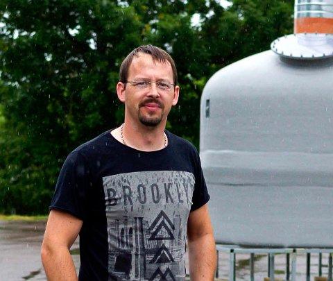 DRIFTSLEDER: Normann Christensen er driftsleder på renseanlegg og pumpestasjoner i Horten kommune.