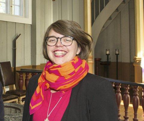 Prest: Bettina Eckbo leder gudstjenesten søndag.