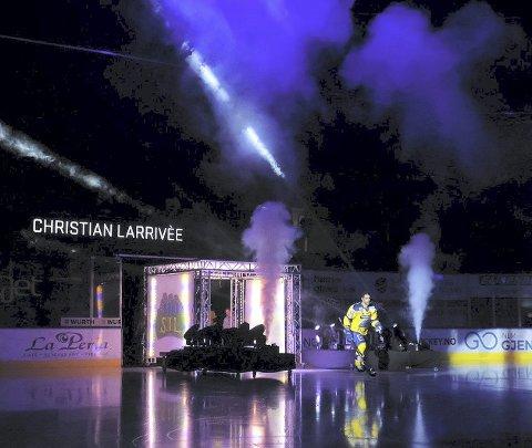 PÅ IS: Storhamar Hockeyspillerne skal på is igjen. Det skal markeres skikkelig lørdag. Foto: Storhamar Hockey
