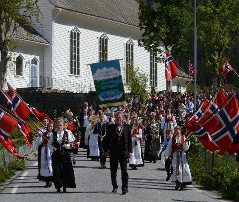 17. mai: Herand musikklag. Arkivfoto: Svein Knutsen