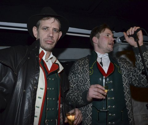 Fjorden Cowboys: Leif Einar Lothe og Joar Førde.