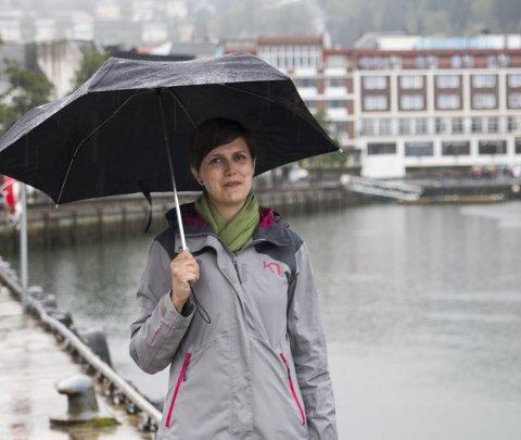 Sp: Lajla-Margrethe Lindskog-Lund, Senterpartiet sin 1. kandidat til kommunevalet i Ullensvang. Arkivfoto: Sondre Lingås Haukedal