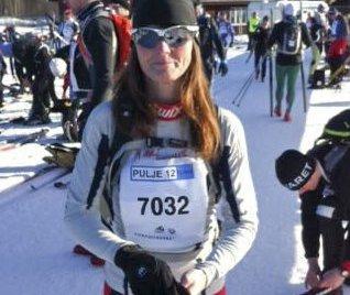 Tredje gang: Karin Kjensli har gjennomført Birkebeinerrennet  tre ganger.  Det ble 26 plass i kvinner 40-44 år i fjor.
