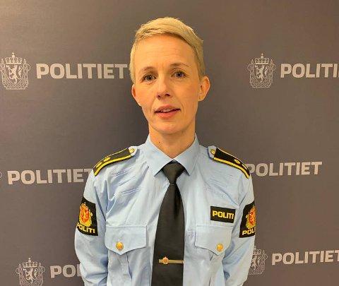 Heidi Hallesen Heggen, seksjonsleder for etterforskning på Harstad politistasjon