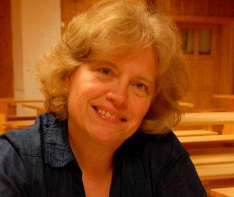 Ildsjel: Rita Nyborg brenner for Blaker Skanse.arkivfoto: svein Samuelsen