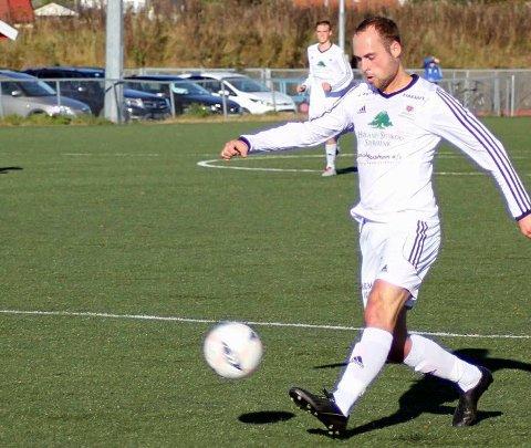 Scoret: Martin Vestreng.