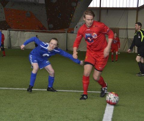 MÅLTYV: Espen Windstad scoret sju mål i seriefinalen.