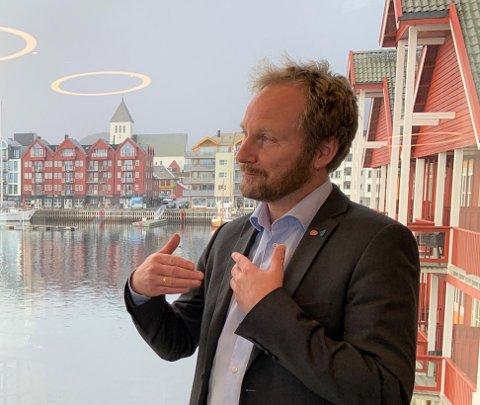 Remi Solberg (Ap), ordfører i Vestvågøy og leder i Lofotrådet.