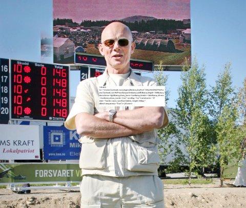Svein Erik Rognli er leder av administrasjonskomiteen under Landsskytterstevnet i Øverbygd. Også for ti år siden var han med å arrangere mesterskapet.