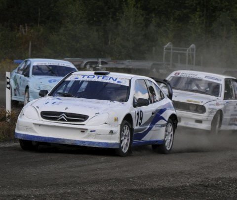 To poeng: Henrik Paulsen manglet fattige to poeng til å vinne NM i rallycross sammenlagt. Arkivbilde