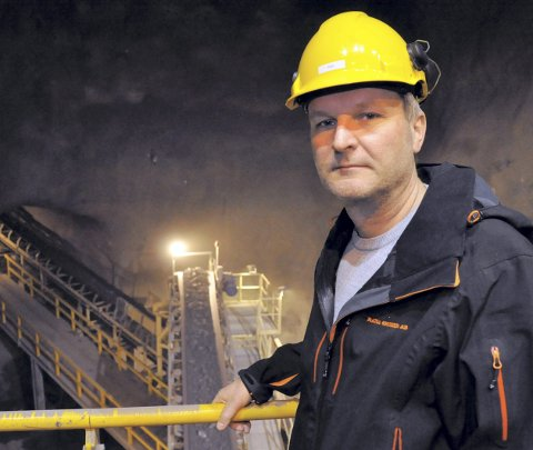Administrerende direktør i Rana Gruber, Gunnar Moe.