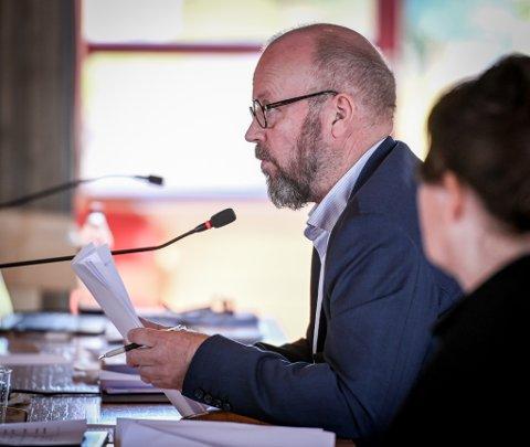 Ordfører Geir Waage. Arkivfoto.