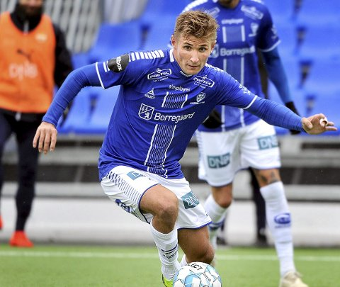 Innsats: Steffen Lie Skålevik la ned en kjempeinnsats da Sarpsborg 08-rekruttene slo Sunndal.